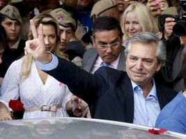 'we're back': argentina's peronists return as fernandez takes office