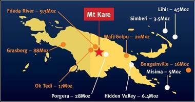 rtg agrees to acquire the priority exploration licence applications for an 80% stake in the 2.1m oz mt kare gold project