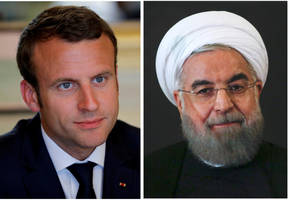 macron to rouhani: imprisonment of french nationals 'intolerable'