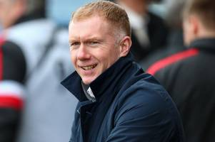 man utd legend paul scholes admits to strange pre-match meal and routine