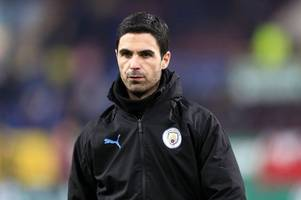 mikel arteta desperate for arsenal job as man city hold out for emirates clash