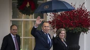 russian foreign minister has second oval office meeting with trump