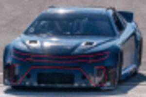 watch joey logano tests nascar's next gen racer at ism