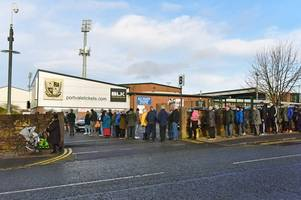 'i haven't seen anything like it since the spurs game' - port vale fans as man city tickets go on sale
