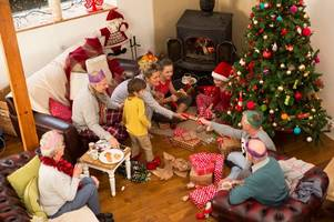 Time you open your Christmas presents reveals your class