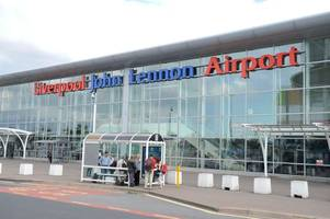 Liverpool Airport closed after private jet skids off runway