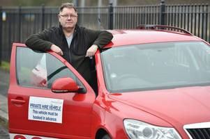 psychic taxi driver denies student's claim that he watched her get dressed