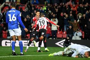 Brentford 2-1 Cardiff City: Neil Harris tastes first defeat as Bluebirds boss after lacklustre display