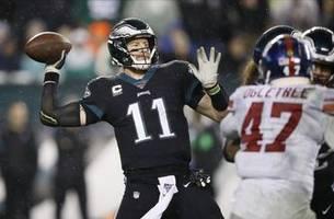 Depleted Eagles visit Redskins with playoff hopes alive