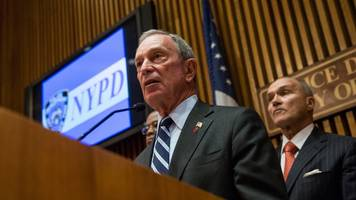 what did bloomberg do to help reduce crime in new york city?