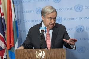 un chief urges reaffirmed commitment to universal health coverage