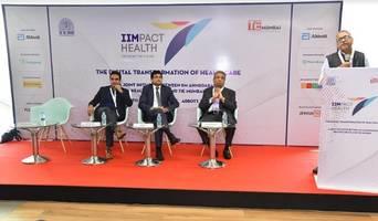 tie mumbai and iim ahmedabad alumni healthcare sig organize iimpact health conference - the digital transformtion of healthcare