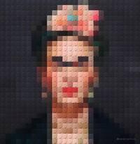 Frida Kahlo in Lego