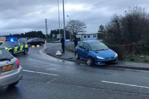 accident caused delays near to pirelli stadium in burton