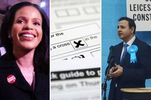 leicester and leicestershire election results 2019: what was the turnout for each constituency?