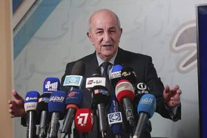 algeria declares former pm tebboune winner of presidential election