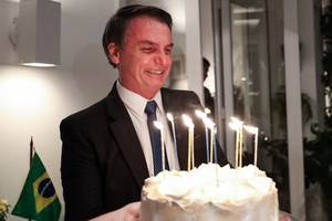 brazil's bolsonaro: god made me president