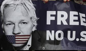 julian assange 'blocked from seeing evidence' over extradition to us, court told