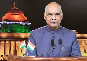President Ram Nath Kovind pays tribute to victims of 2001 Parliament attack