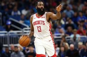 rockets star james harden branded 'selfish' by nba fans after making 50-point history
