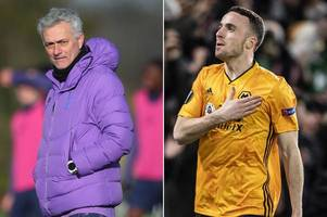 Spurs boss Jose Mourinho issued warning about the Wolves star who can take him down