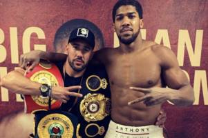 the inside story from anthony joshua's training camp for andy ruiz jr win