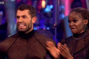 kelvin fletcher's wife's heartbreaking message before strictly come dancing final