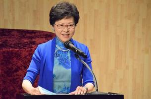 hong kong leader arrives in china to discuss situation with president xi