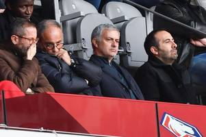 Luis Campos to Tottenham: Jose Mourinho provides update amid director of football links