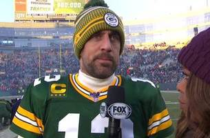 aaron rodgers on 11-3 packers: 'i don't think many teams wanna come here and play us'