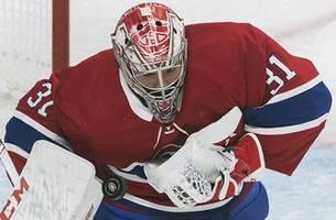 Bernier makes 42 saves, Red Wings beat Canadiens 2-1