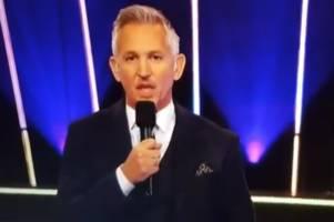 gary lineker 'gives away' ben stokes as 2019 spoty winner in tv slip up