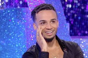 aston merrygold reveals fiancee sarah richards is pregnant in heart-warming video