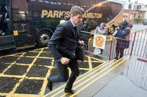 Motherwell vs Rangers: In pictures