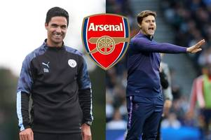 Next Arsenal manager latest: 'Hope' in Pochettino chase, Arteta 'more than ready' to take over