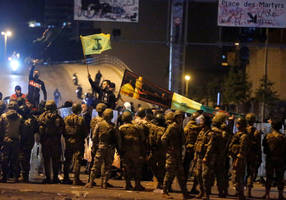 violence plagues lebanon protests amid clashes with police, hezbollah