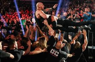 Wild brawl spills into arena as WWE TLC concludes