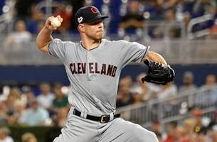 rangers acquire two-time cy young winner kluber from indians