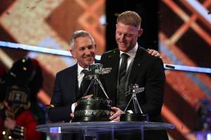 gary lineker and the bbc speak out after ben stokes spoty award blunder