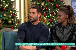 kelvin fletcher sacrificed son's first birthday to win strictly come dancing