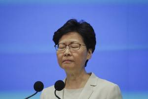 chinese president backs hong kong leader amid 'complex and difficult' situation