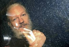 julian assange's extradition fight could turn on reports he was spied on for cia