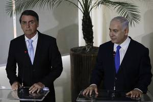 netanyahu says brazil committed to move embassy to jerusalem in 2020