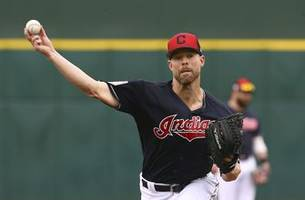 kluber joins hometown rangers, leaves 'ace' talk to others