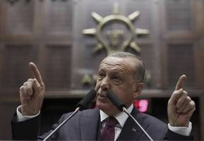 turkey forced into syria operation by lack of support on refugees, says erdogan