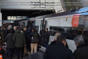 person hit by a train near birmingham international and services cancelled and delayed