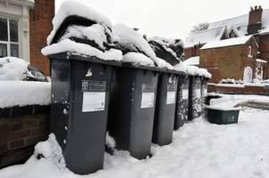 this is when solihull bins will be collected over christmas and new year