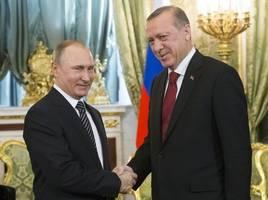 kremlin: 'putin will discuss with erdogan turkey's military support for tripoli'