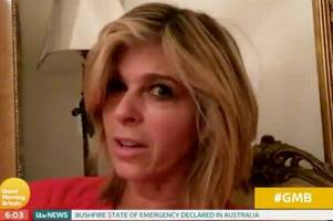 gmb host kate garraway scared of 'getting fired' after missing first day since i'm a celebrity