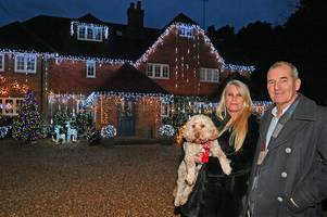 family devastated after charity bucket for christmas lights stolen outside fleet home